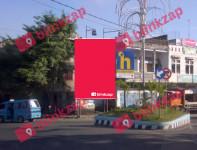 sewa media Billboard Billboard JLHasanudin – Pertigaan dari Pasar Bersehati KOTA MANADO Street