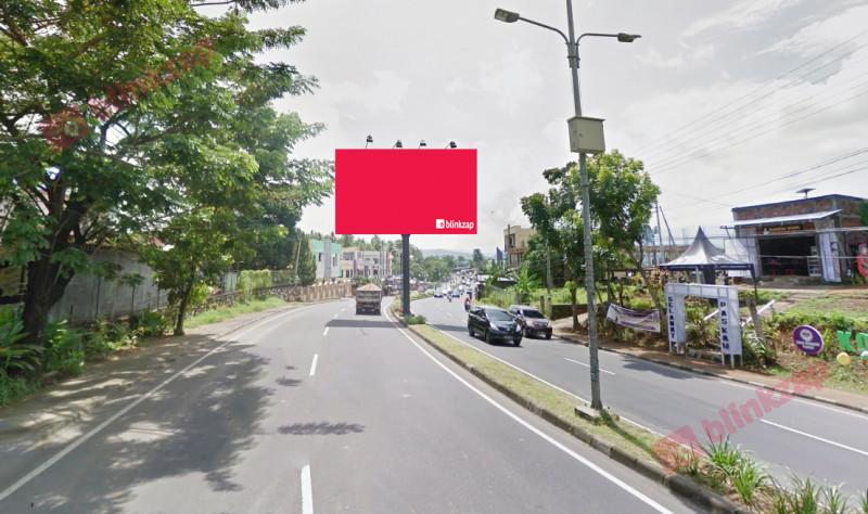 Sewa Billboard - Billboard Jl. A  A  Maramis – Depan RM Shafa B - kota manado
