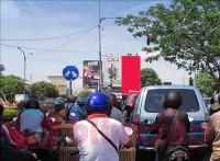 sewa media Billboard Billboard  Jl. Per4an Manyar Kertoarjo (SAMSAT) Surabaya KOTA SURABAYA Street