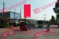 Billboard Jl. Raya Serang, Dekat Stasiun Kereta Api Ciwandan