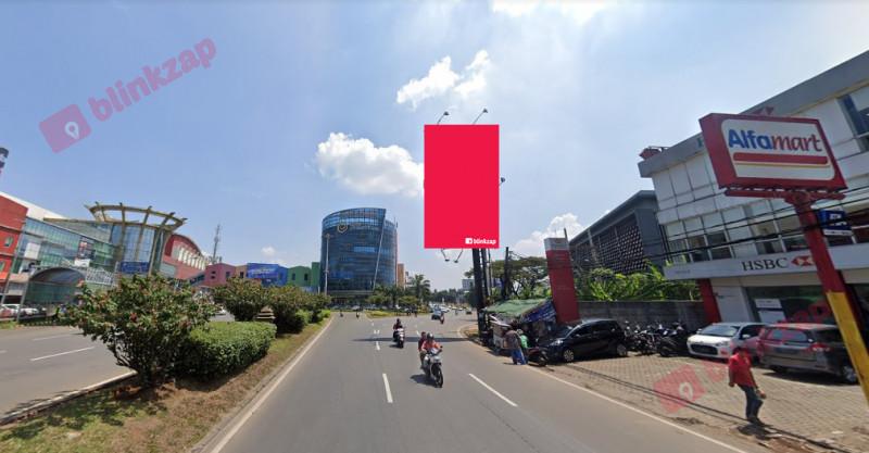 Sewa Billboard - Billboard Jl. Raya Pahlawan Seribu Serpong (Depan BSD Junction) B - kota tangerang selatan