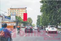 sewa media Billboard Billboard Jl Manyar kertoarjo (depan Showroom HONDA) KOTA SURABAYA Street