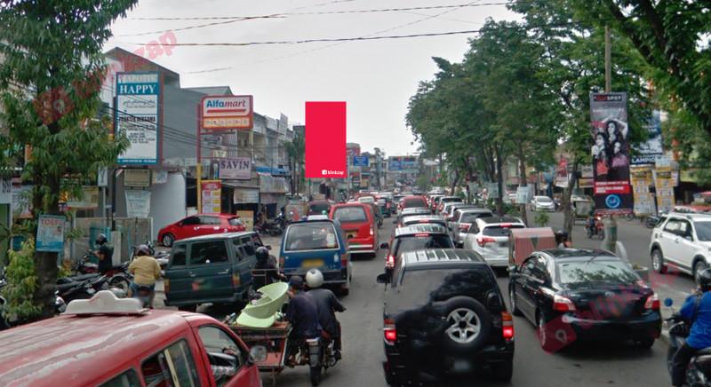 Sewa Billboard - Billboard BW023 - Jl. Djamin Ginting simp Dr Mansur - kota medan