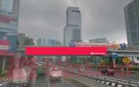 sewa media Billboard JPO JL.Gatot Subroto KM 7+300B KOTA JAKARTA SELATAN Street