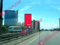 sewa media Billboard Billboard - Fly Over Grogol - Trisakti KOTA JAKARTA BARAT Street