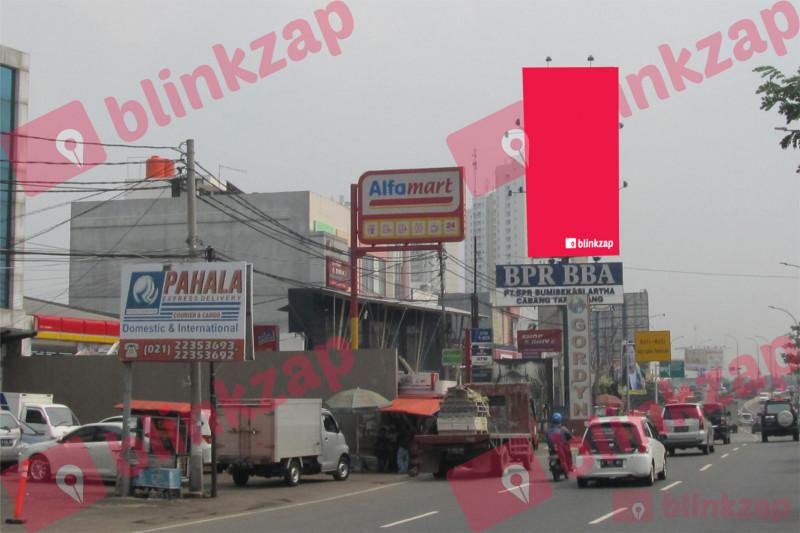 Sewa Billboard - Billboard Jl. MH. Thamrin (Depan Hotel FM3) - kota tangerang