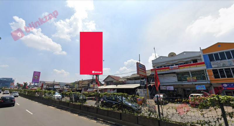 Sewa Billboard - Billboard Jl. Raya Pahlawan Seribu Serpong (Depan Auto 2000) B - kota tangerang selatan