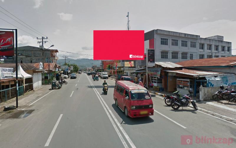Sewa Billboard - Billboard Jl. SM Raja Depan Showroom Honda B - kota padangsidimpuan