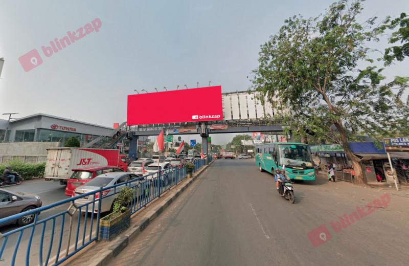 Sewa Billboard - Billboard JPO JL.Jendral Sudirman ( Didepan MALL TANGCITY) B - kota tangerang