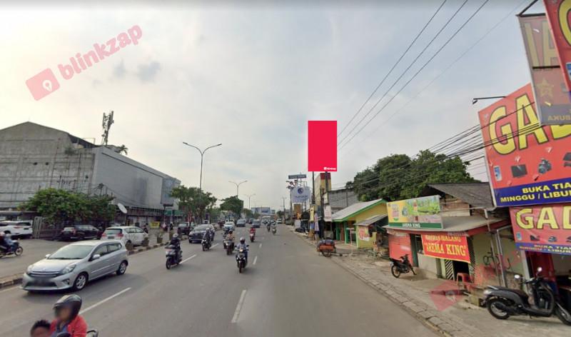 Sewa Billboard - Billboard Jl. RAYA SERPONG (DEKAT TOKO CAT) - B - kota tangerang selatan
