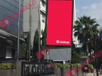sewa media Videotron / LED LED Plaza Permata KOTA JAKARTA PUSAT Street