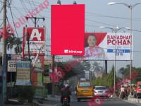 sewa media Billboard BL_008_IDMW (A) KOTA MEDAN Street