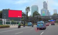 sewa media Billboard LED The Sultan Hotel KOTA JAKARTA PUSAT Street