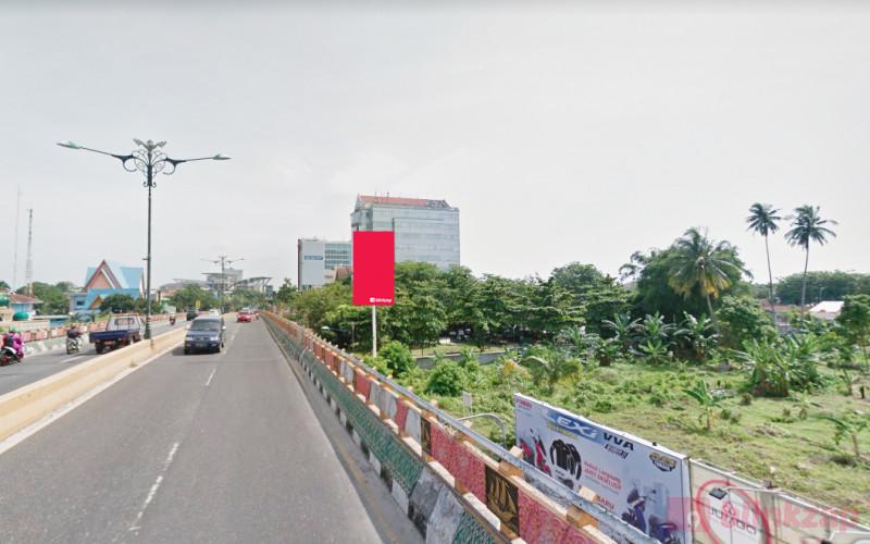 Sewa Billboard - Billboard JL.Jendral Sudirman Fly Over Nangka Riau B - kota pekanbaru