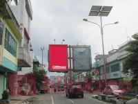 sewa media Billboard Billboard MGM_21, Jalan Sudirman (Side B) Dekat Showroom Yamaha -  Kota Tebing Tinggi KOTA TEBING TINGGI Street