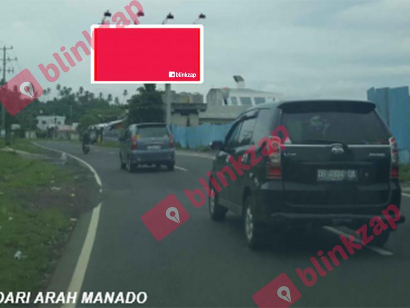 Sewa Billboard - Jl. Trans Sulawesi {Kalasey} (A) - kabupaten minahasa