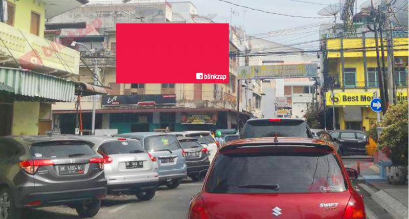 Sewa Billboard - Billboard BW012 - Jl. Zainul Arifin simp Teuku Umar - kota medan