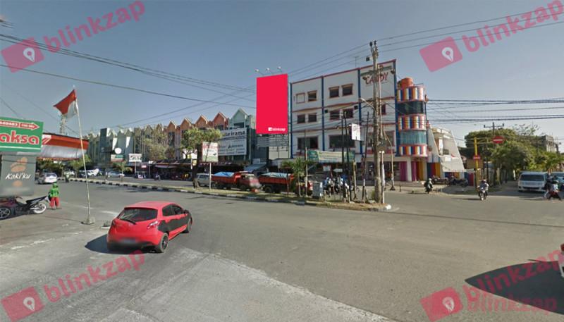 Sewa Media Billboard - Jalan Pengayoman View dari Jl. Adyaksa - kota makassar