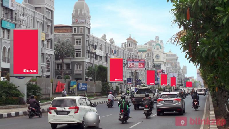 Sewa Videotron / LED - Digital Banner Mall of Indonesia - kota jakarta utara