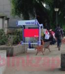 sewa media Videotron / LED LED Taman Alun-Alun Timur KOTA BANDUNG Street
