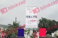 sewa media Billboard Billboard JMBBNBL01 Jl. Soemantri Brojonegoro (Taman Simp. Pulai)1, Jambi                                                                                                                                                   KOTA JAMBI Street