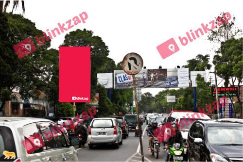 Sewa Billboard -  Billboard Jl. Riau (depan Hotel Newton) - kota bandung