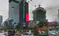 sewa media Videotron / LED LED Indosurya Plaza KOTA JAKARTA PUSAT Street