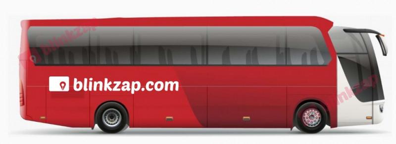 Sewa Vehicle Branding - Bus Full Body Nusantara - kota jakarta utara