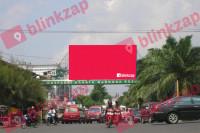 sewa media Billboard Billboard PLBDEBB03, Jalan Dani Efendi - Kota Palembang KOTA PALEMBANG Street