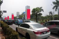 sewa media Neon Box Neon Box Pillar Monorail - Depan Pintu 1 GBK s/d Depan Hotel Fairmont KOTA JAKARTA PUSAT Street