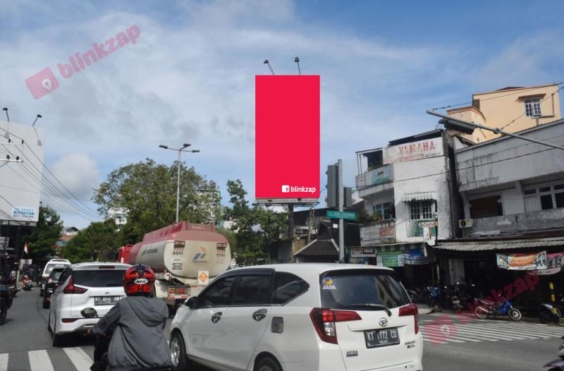 Sewa Billboard - Billboard Jl. Sudirman (Simp 3 Damai-view dari BP) Balikpapan ADM - kota balikpapan