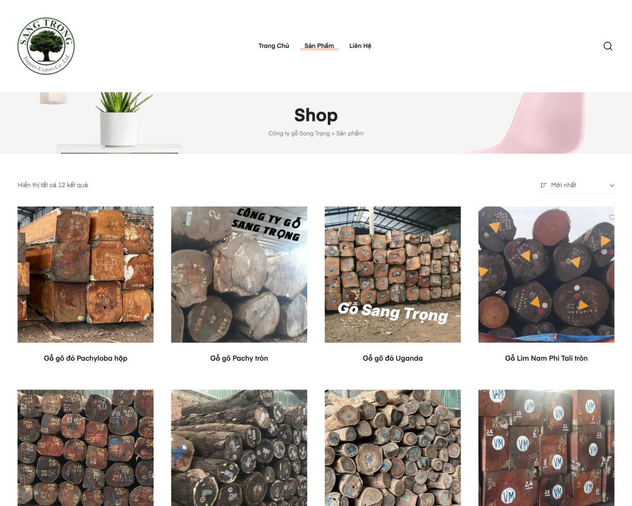 Website vật dụng trang trí nội thất - interior decoration-1