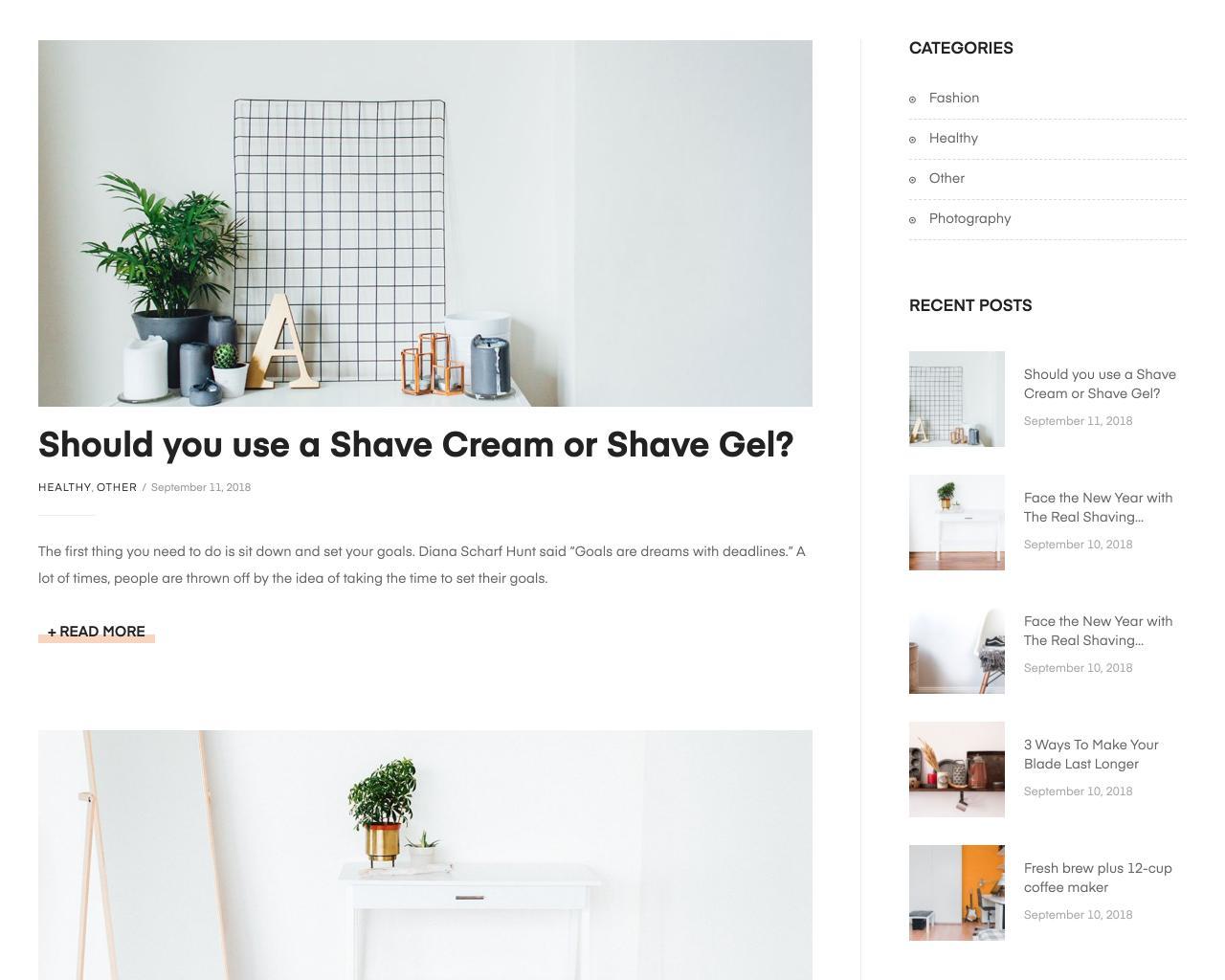 Website vật dụng trang trí nội thất - interior decoration-2