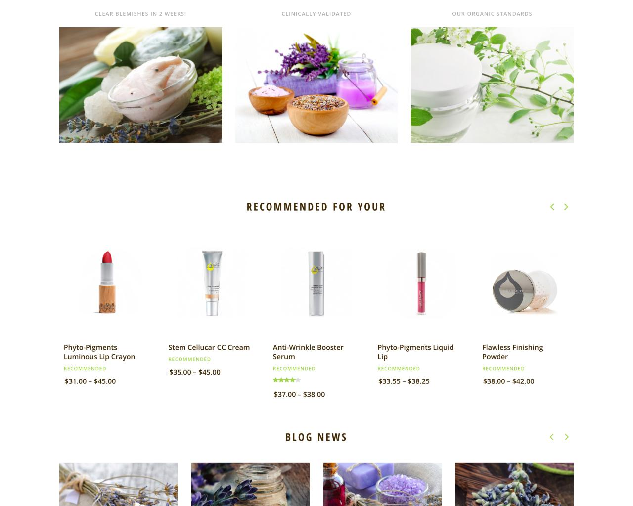 Website mỹ phẩm - chăm sóc da - làm đẹp-5