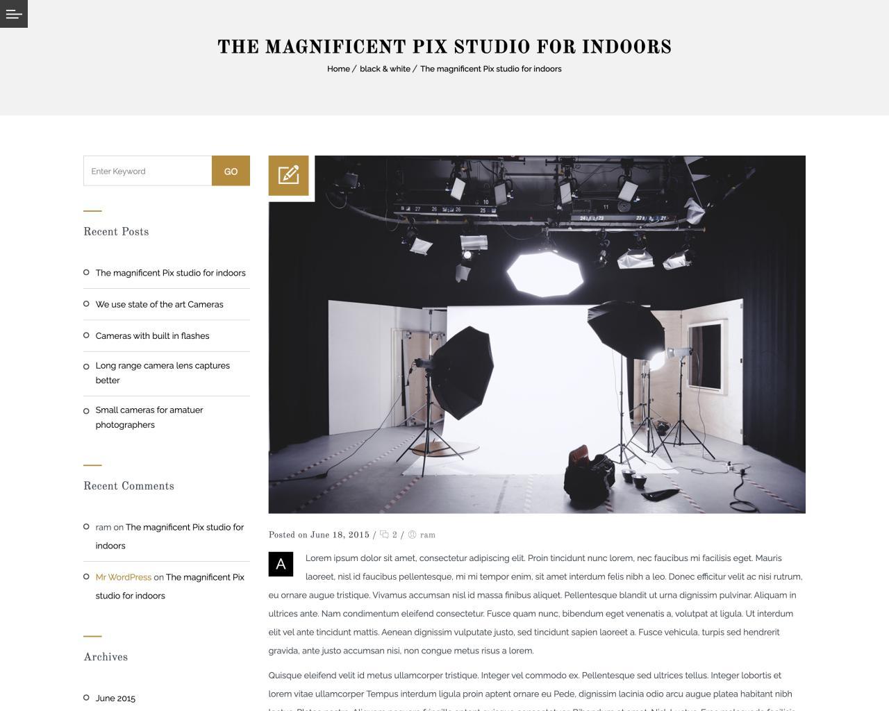 Website Studio Show hình nghệ thuật-4