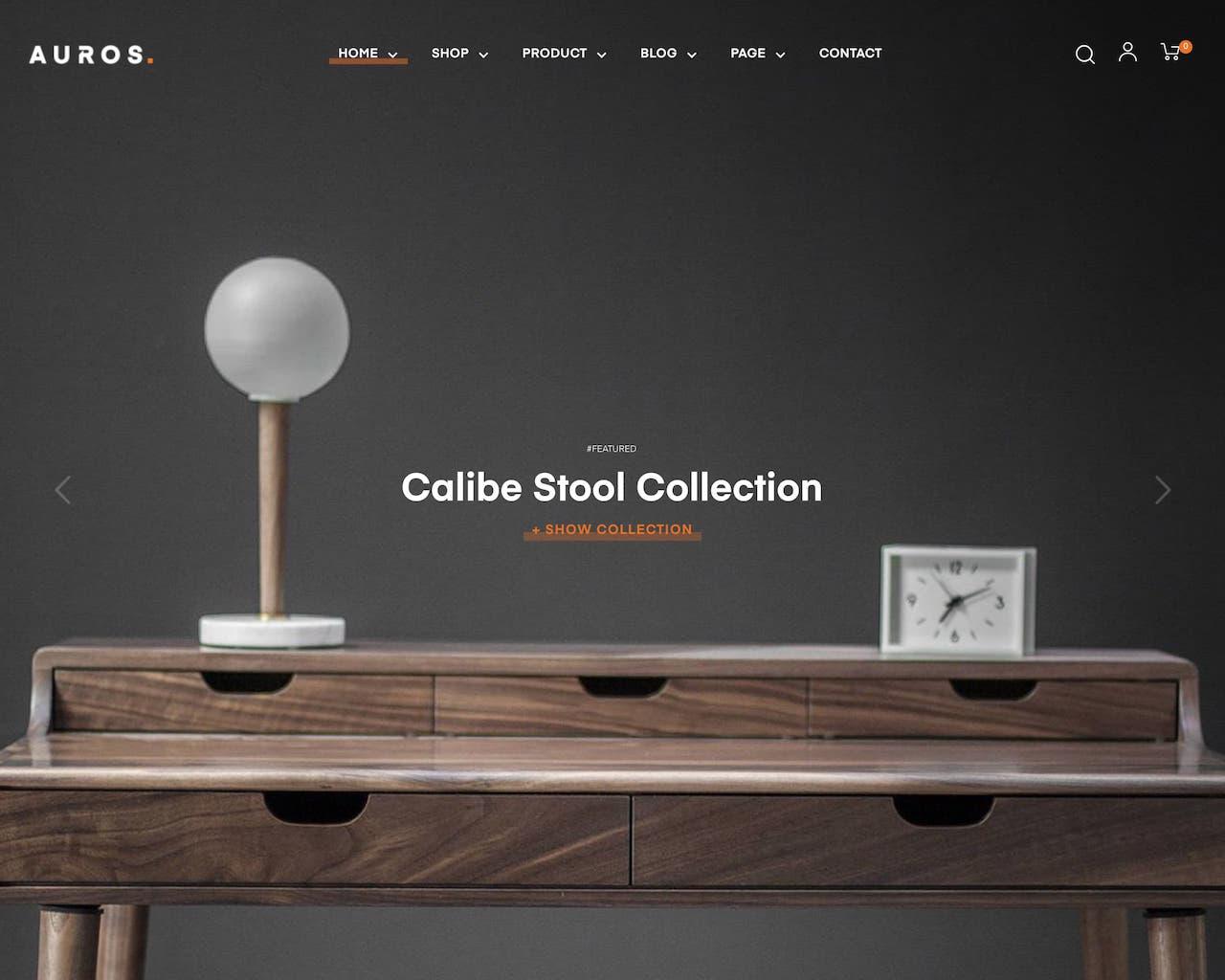 Website vật dụng trang trí nội thất - interior decoration
