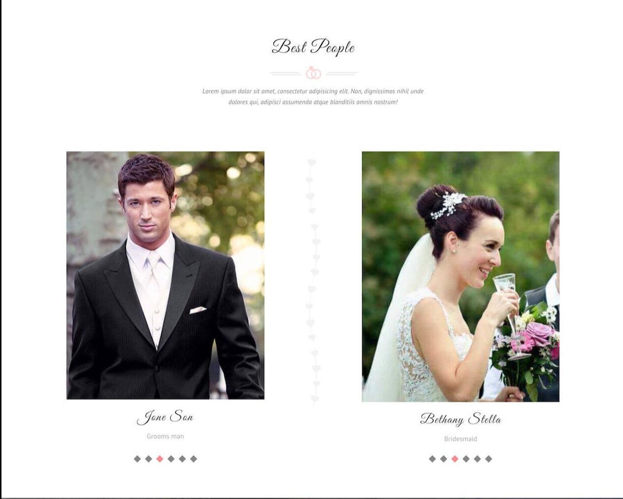 Website Wedding - Chúc mừng đám cưới
