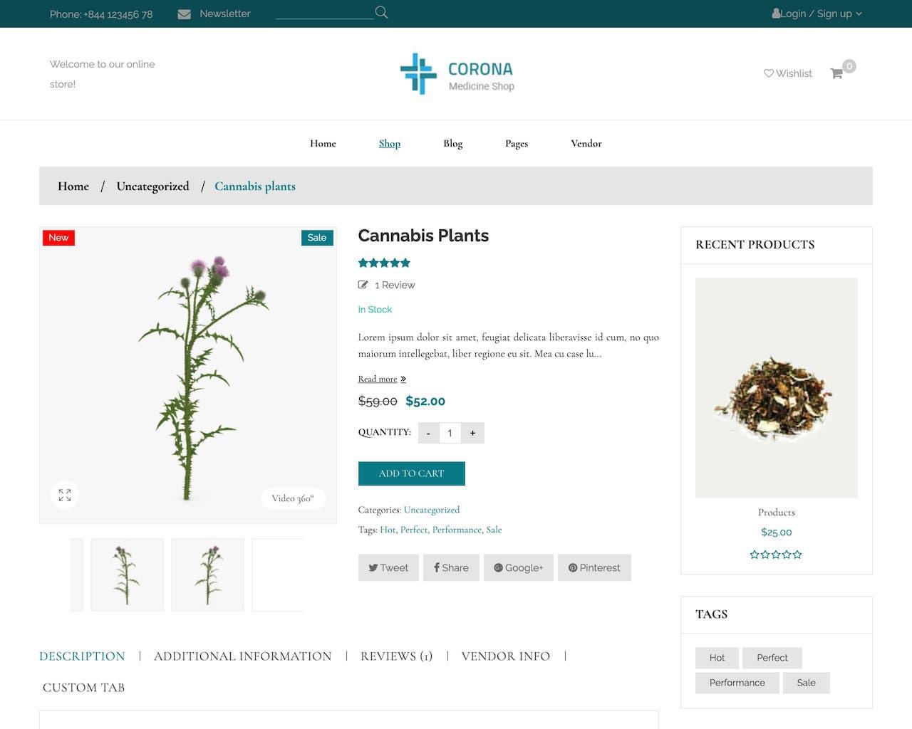 Website tiệm thuốc - cửa hàng dược phẩm-1