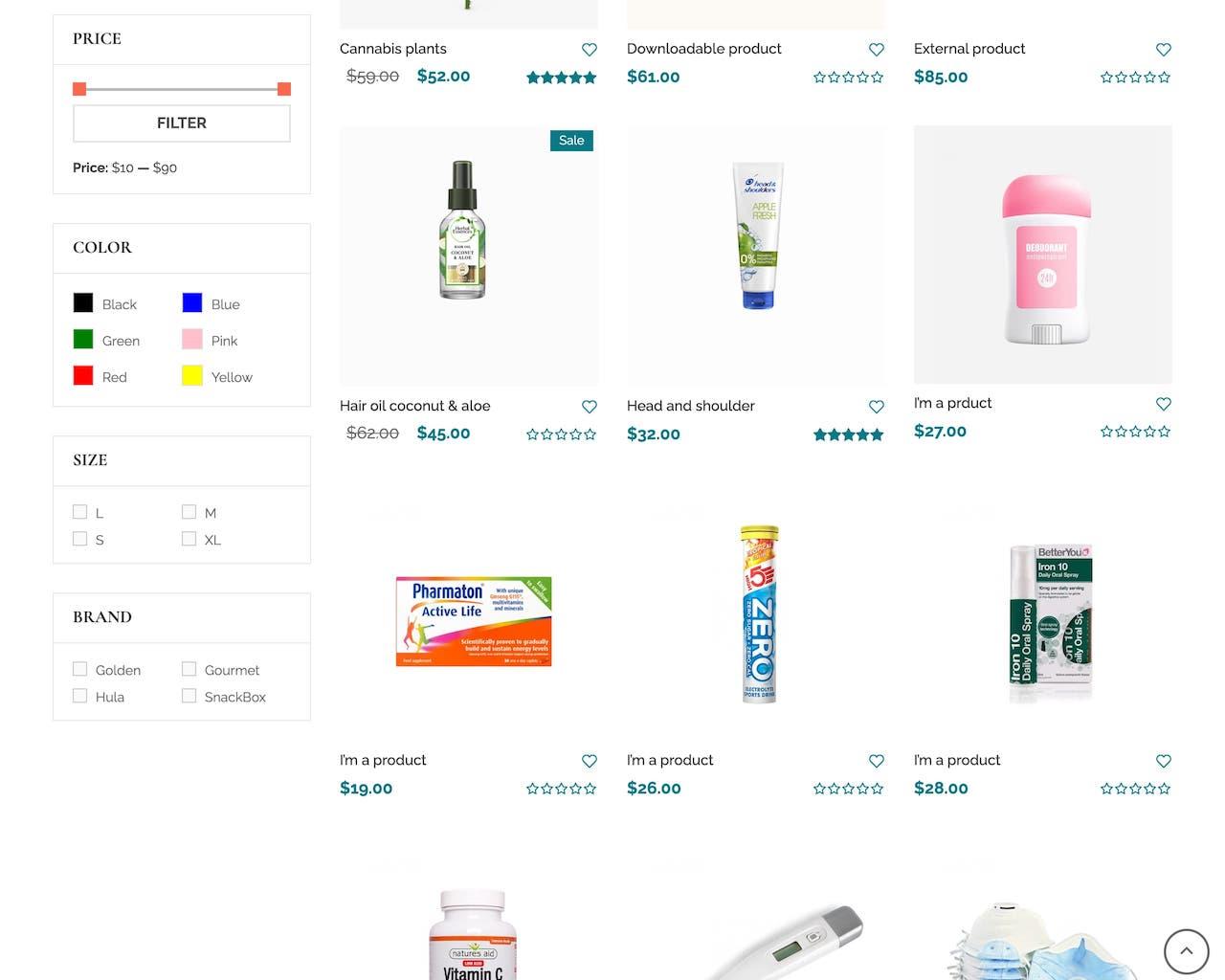 Website tiệm thuốc - cửa hàng dược phẩm-2