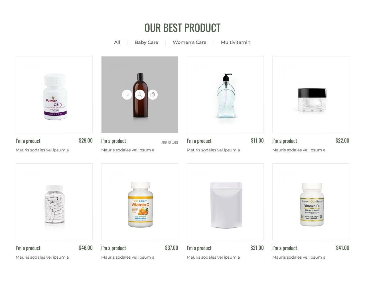 Website tiệm thuốc - cửa hàng dược phẩm-4