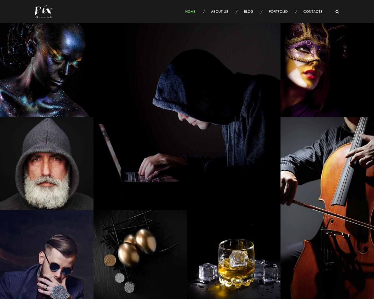 Website Studio Show hình nghệ thuật