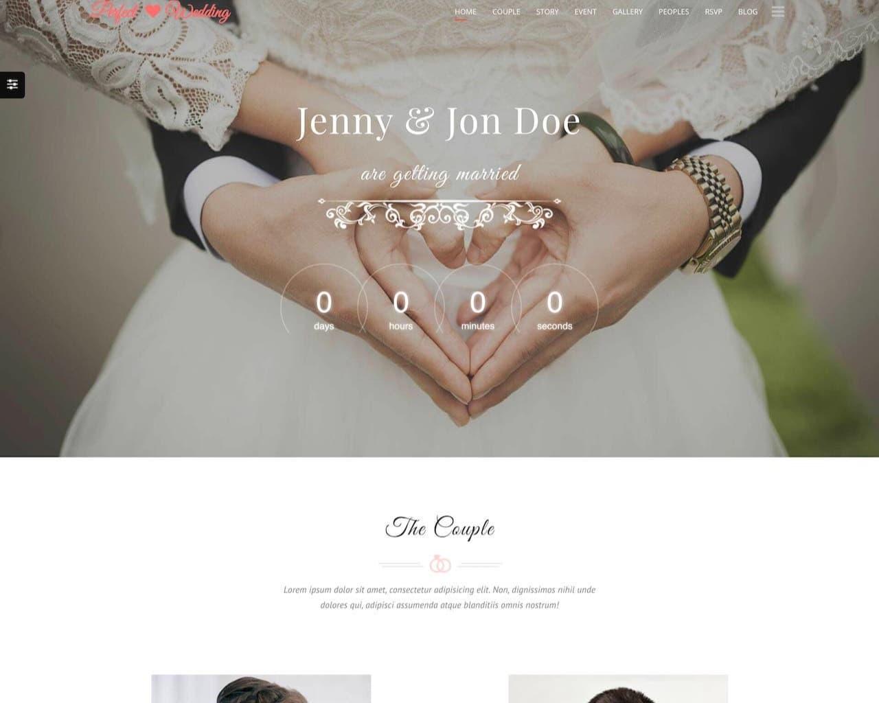 Website Wedding - Chúc mừng đám cưới-1