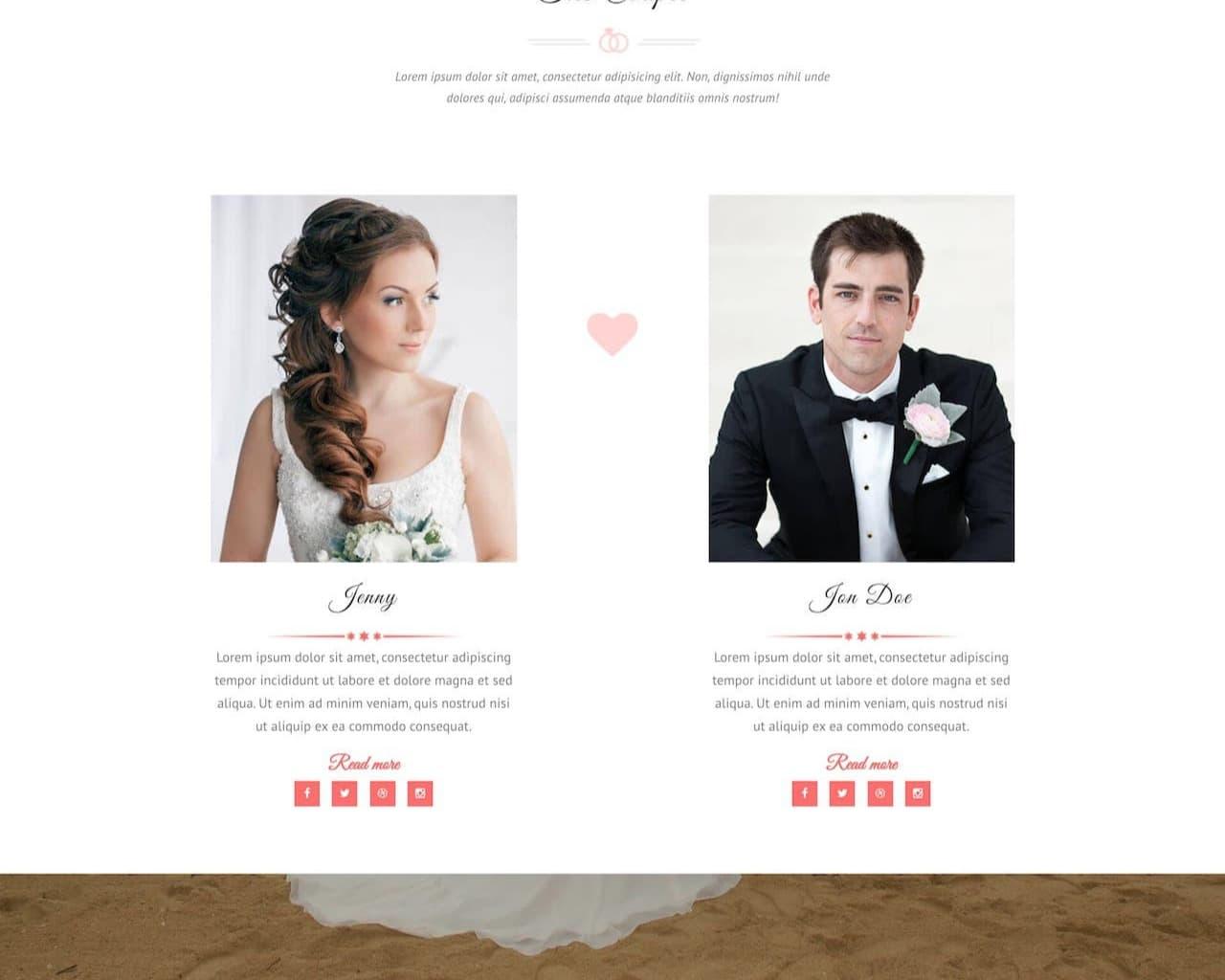 Website Wedding - Chúc mừng đám cưới-2
