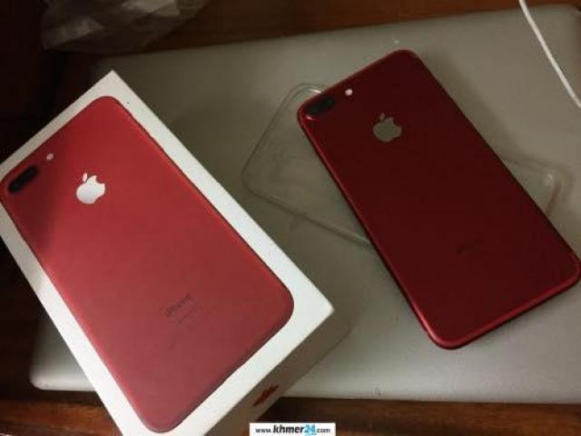 Red iPhone 7 plus 18GB for sale in Cambodia at 765$ - 1/6