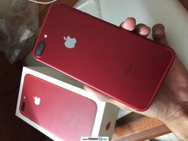 Red iPhone 7 plus 18GB for sale in Cambodia at 765$ - 4/6