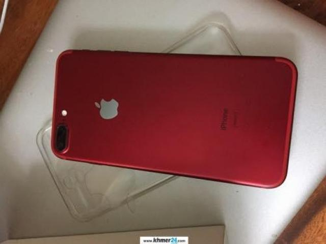 Red iPhone 7 plus 18GB for sale in Cambodia at 765$ - 5/6
