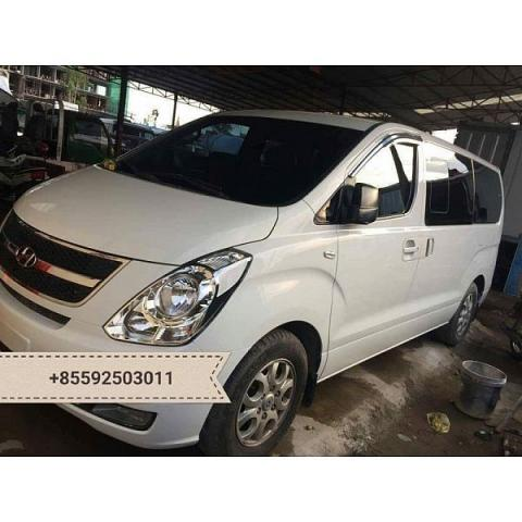Hyundai Grand Starex for rent in cambodia - 1/5