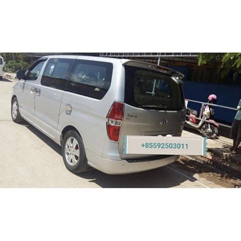 Hyundai Grand Starex for rent in cambodia - 2/5