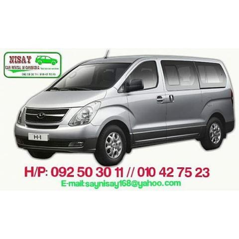 Hyundai Grand Starex for rent in cambodia - 3/5