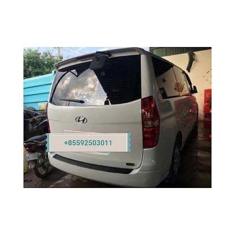 Hyundai Grand Starex for rent in cambodia - 4/5